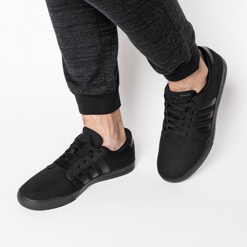 new style 21d25 8608f adidas Originals Mens VS Skate Shoe Black Sneakers Trainer Casual Shoes  B74219 adidas CasualShoes
