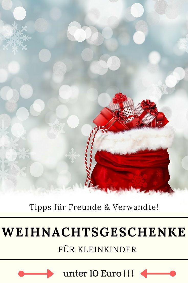 Weihnachtsgeschenke für Kleinkinder unter 10 Euro | Geschenk-Ideen ...