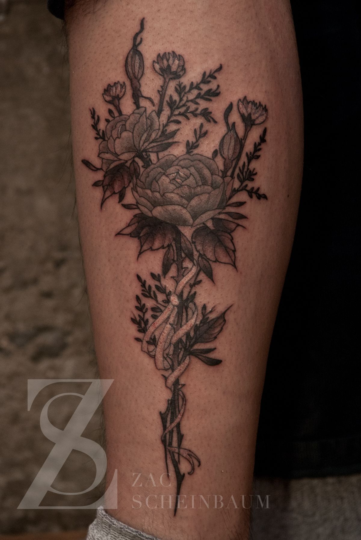 Dried Flowers Pretty Ink Pinterest Tattoos Bouquet Tattoo And