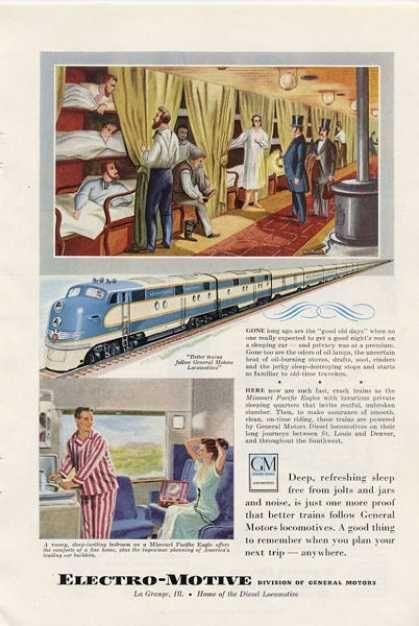 Vintage Look 1946 Great Northern Railway Empire Builder Metal Sign