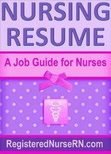 nursing resume templates for nurses