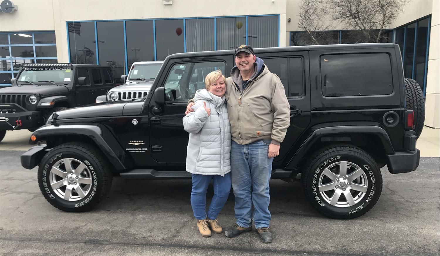 William And Christine We Hope You Enjoy Your New 2012 Jeep