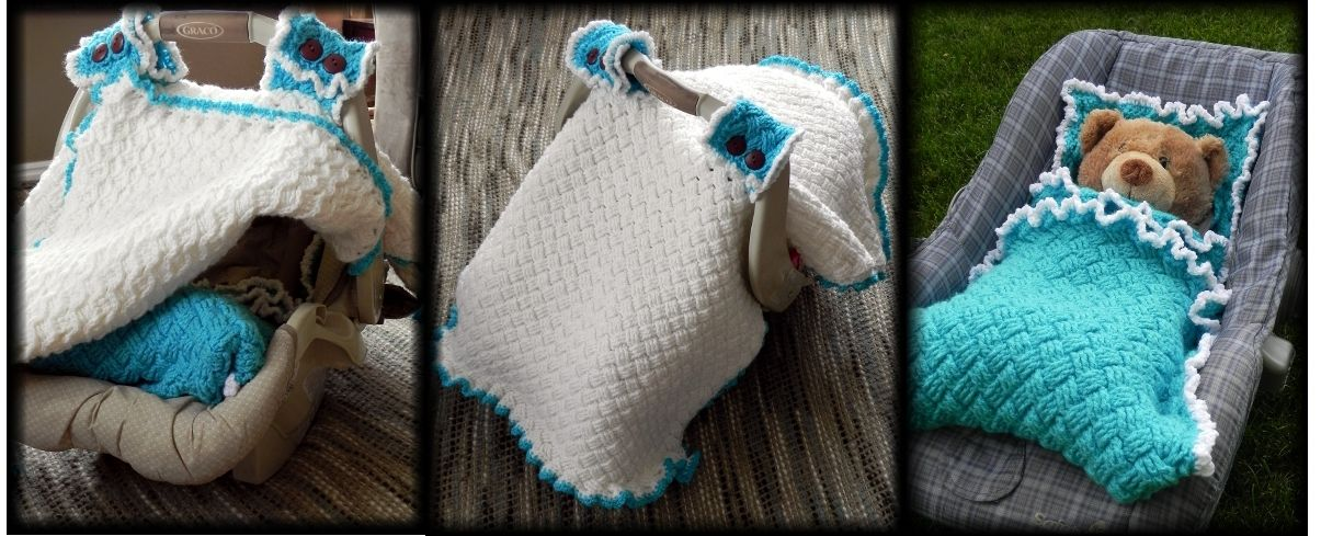 Car Seat Canopy Cover Crochet Pattern Crochet Baby Car