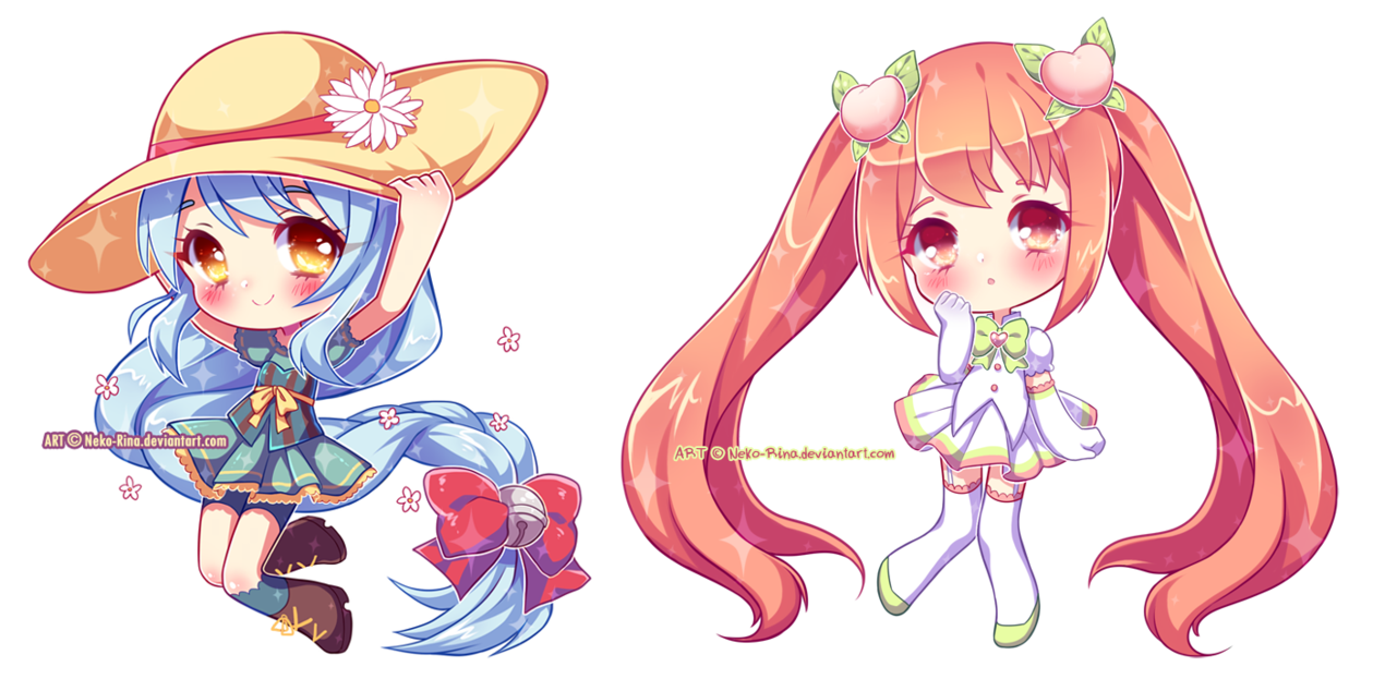 Glossy Chibis Batch by NekoRina (With images) Anime