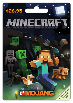 Mojang Minecraft Gift Card Minecraft Gift Code Minecraft Gifts Mojang Minecraft