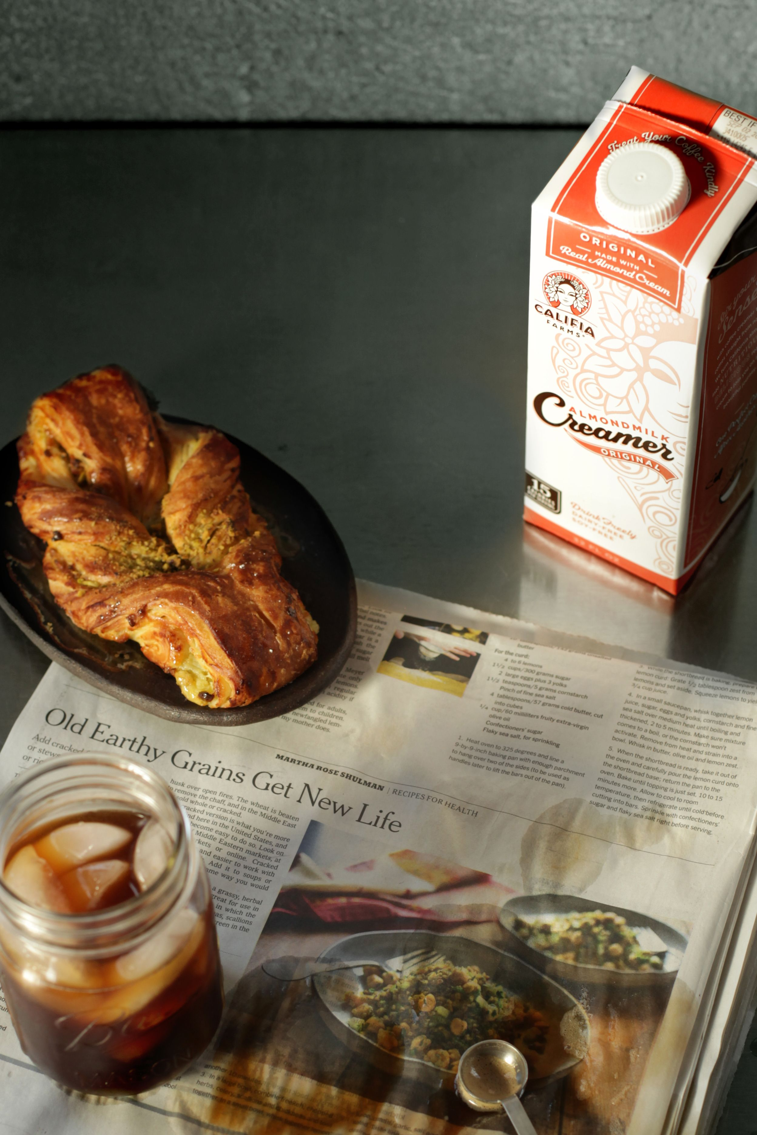 Our original almondmilk coffee creamer is as original as