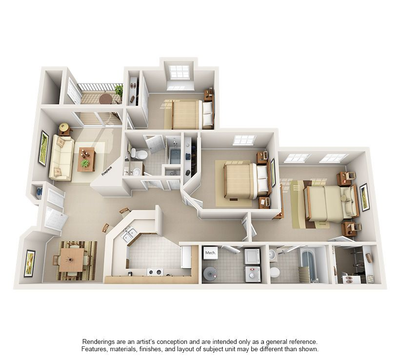 Luxury 1 2 3 Bedroom Apartments In Indianapolis In Indianapolis Indiana Apartment Steadfast Apartment House Layout Plans Sims House Design