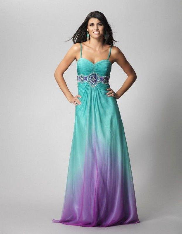 Turquoise And Purple Wedding Dresses Bridesmaid Dress Purple