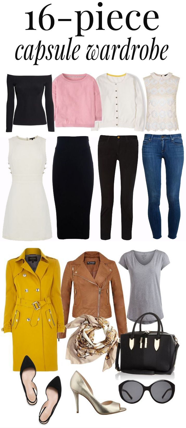 Capsule Wardrobes and Style Essentials   Capsule Wardrobe ...