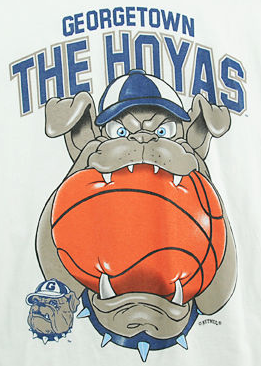 e836b665201 HOYA SAXA! Georgetown Hoyas Basketball - Jack the Bulldog ...