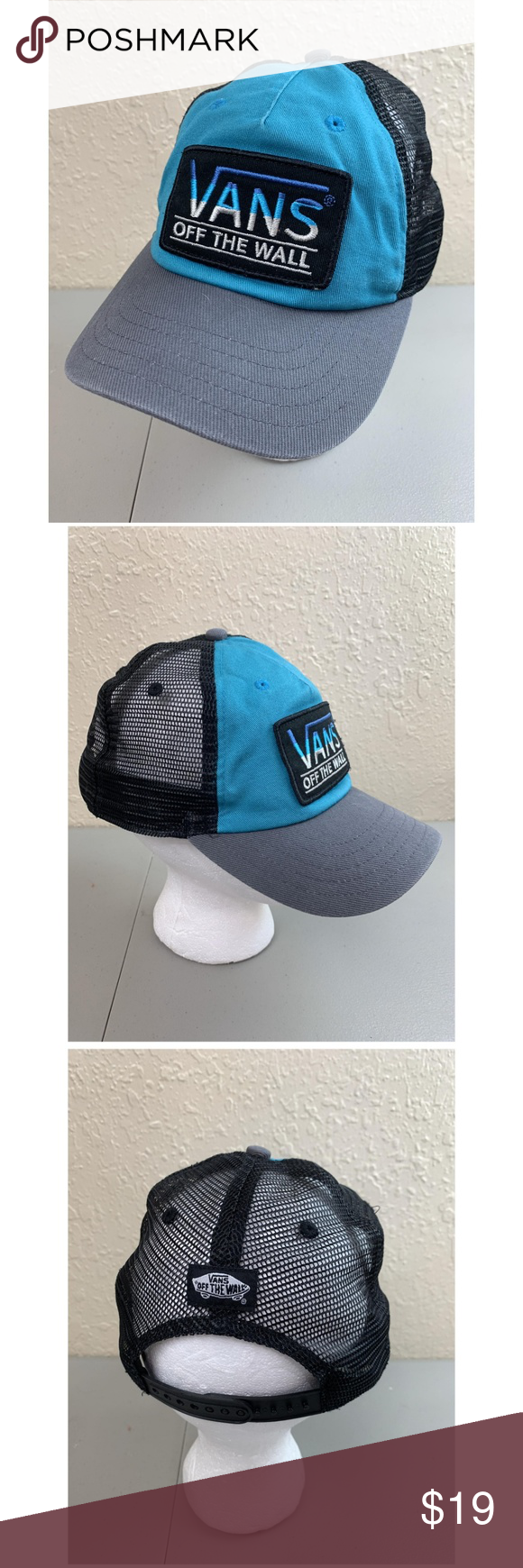 Q Vans Snapback Vintage Trucker Hats Vans Unisex Snapback Vintage Trucker Hats Size One Size Size One Size C Vintage Trucker Hats Trucker Hat Van Accessories