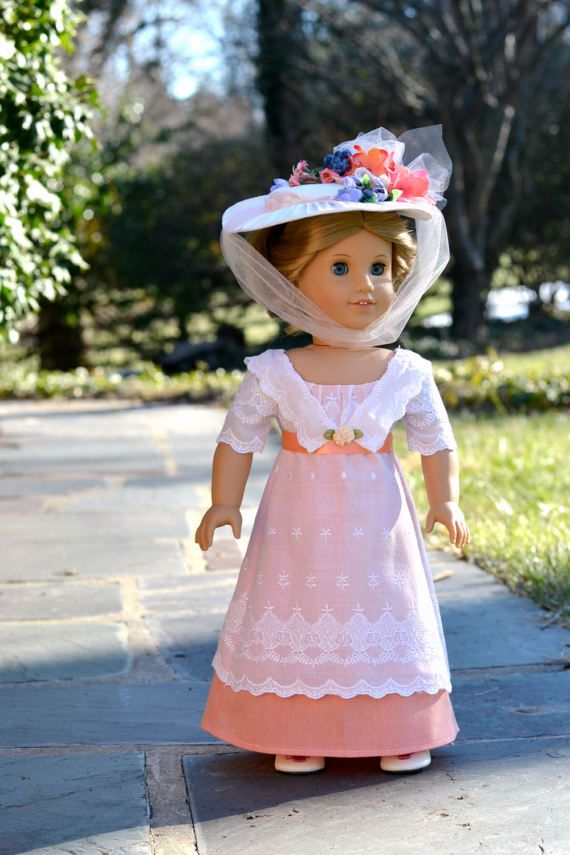 Titanic Doll Dress Downton Abbey for American Girl 18 inch doll ...