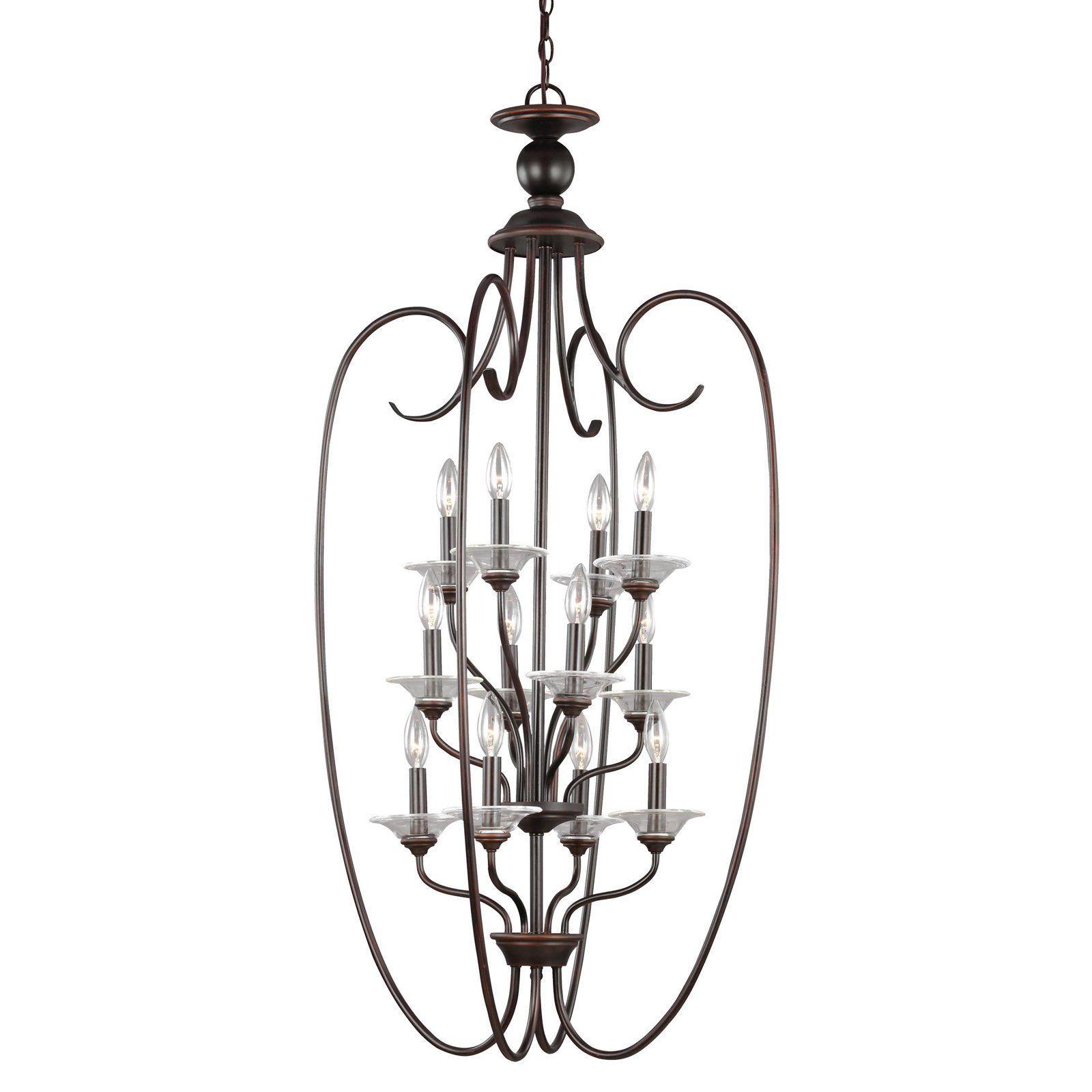 Sea Gull Lighting Lemont 51318 12-Light Hall / Foyer Light - 51318-710