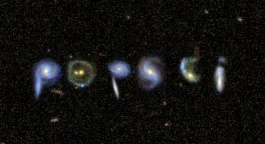 galaxy zoo Popular Science Write Your Name In The Stars