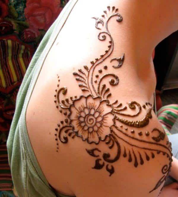 Henna Mehndi Tattoo Designs Idea For Shoulder Tattoos Henna
