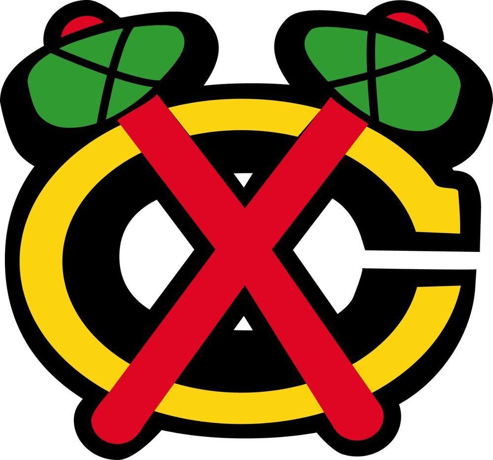 CHICAGO BLACKHAWKS Logo ~ Window WALL DECAL * Vinyl Car STICKER ...