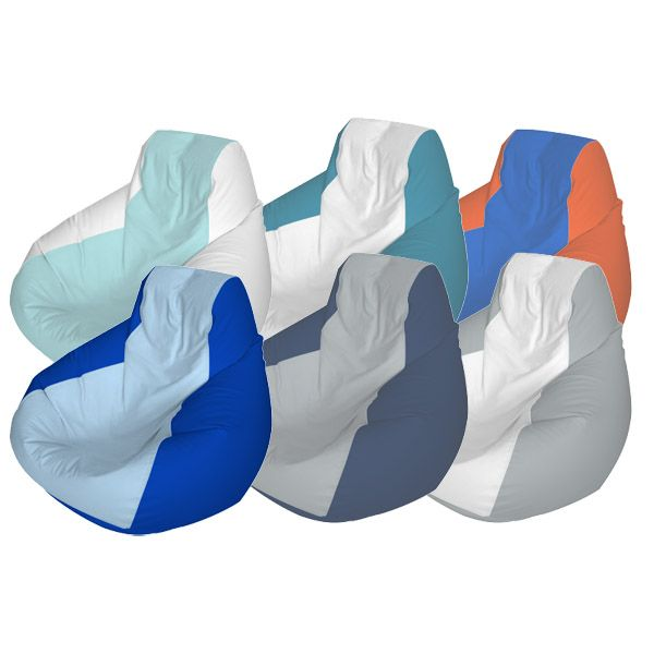 Medium Teardrop Marine Beanbag Custom Colored Bean Bag Chair