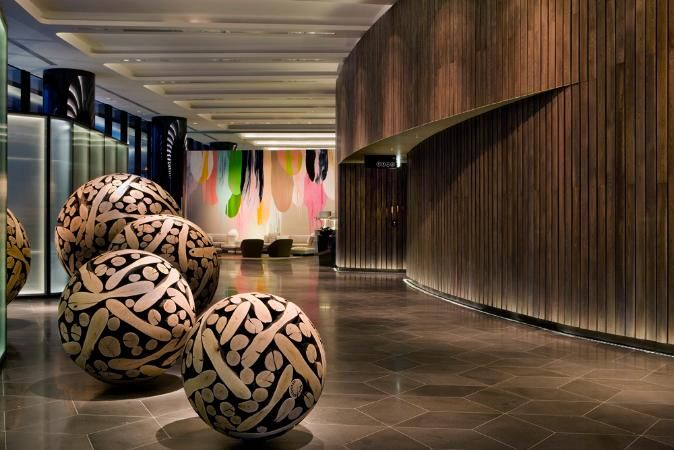Crown metropol this outstanding project succeeds in - Scale in interior design ...
