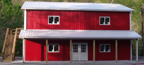 Pole Barns - Amish Built Structures #polebarnhomes