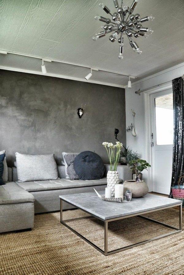 Zimmer einrichten mit grauen Möbeln   Warum und wie denn   Zimmer einrichten, Skandinavische ...