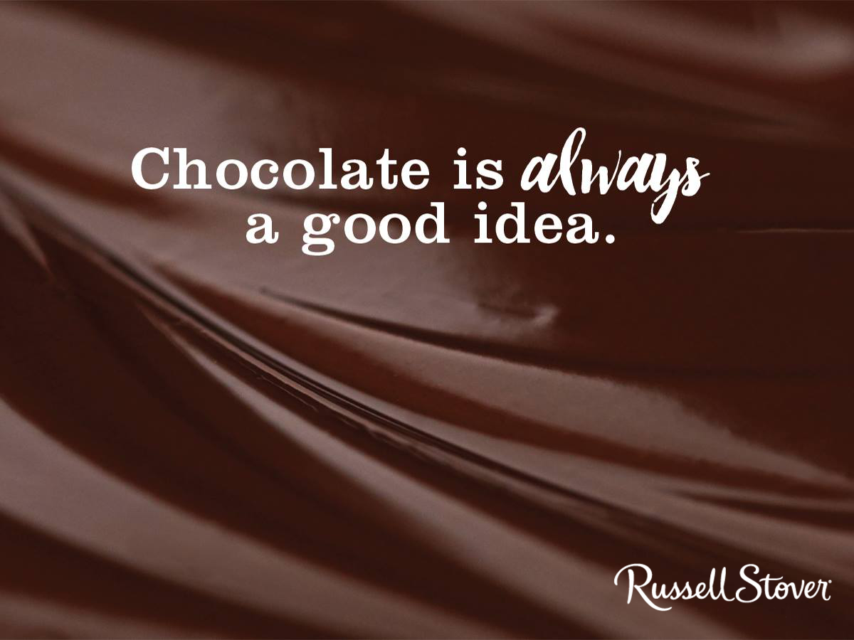 Chocolate is always a good idea chocolate quotes chocolatey traditional boxes of chocolate candy gifting gift baskets sugar free candies seasonal chocolates and more negle Images
