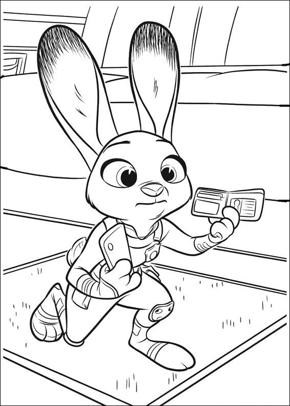 Print Zootopia 11 Coloring Pages
