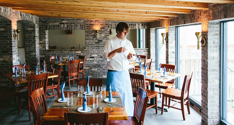 Coda Del Pesce Cucina Del Mare Iop Waterfront Restaurant With