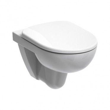 Miska Wc Wiszaca Kolo Nova Pro Bezkolnierzowa Z Deska Wolnoopadajaca Z Duroplastu Miski Wiszace Bathroom Toilets Toilet Bathroom