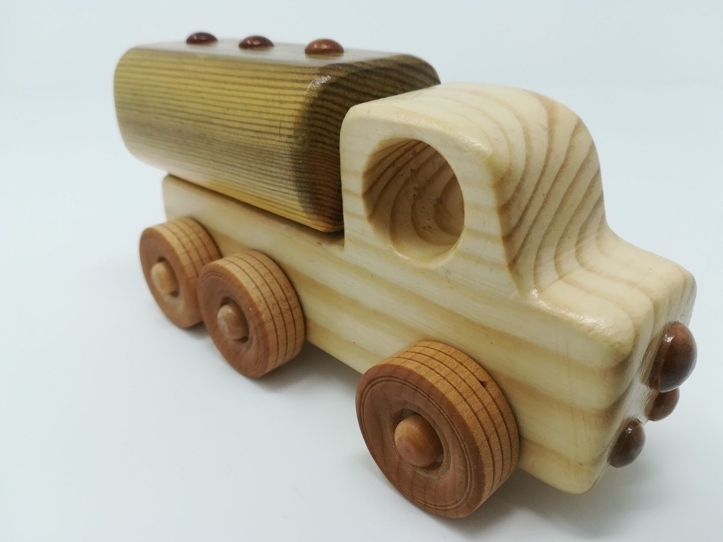 a set of 5 vehicles for a birthday boy. | handmade wooden
