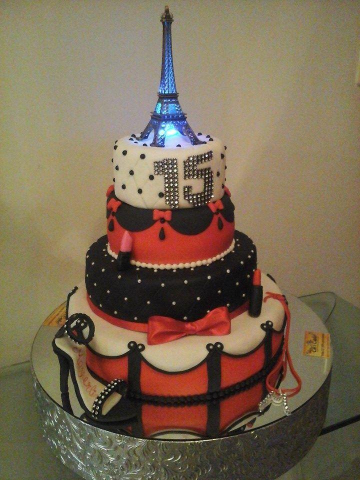 Torta De 15 A 241 Os Paris Tortas De 15 A 241 Os 3d 100