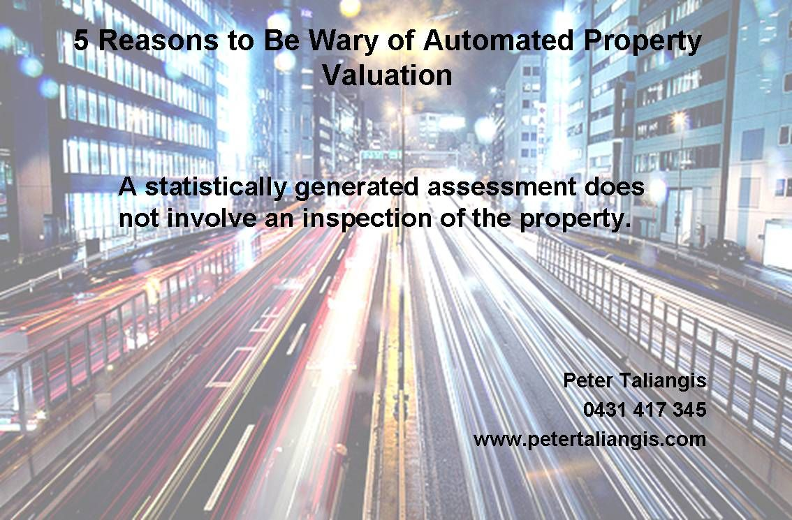 5 reasons to be wary of automated property valuation #4