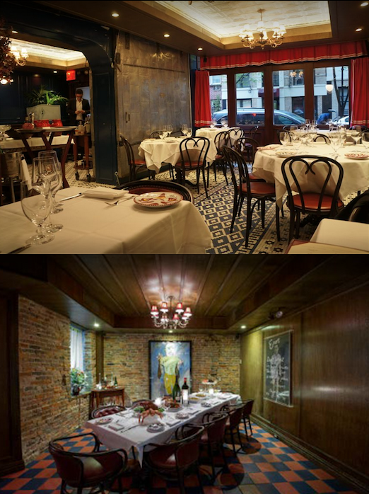 Carbone Iconic Italianwest Village Private Dining From 9  12 Captivating Best Private Dining Rooms Nyc Inspiration