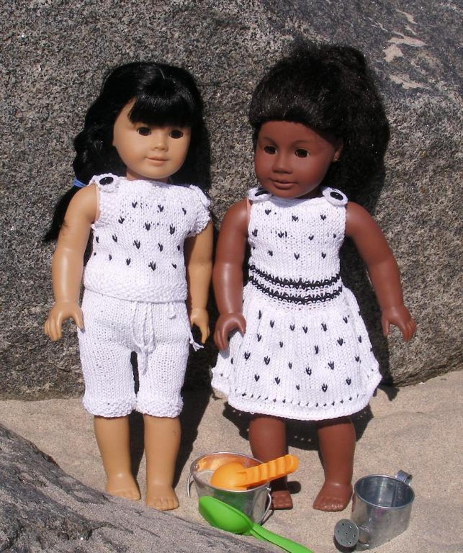 BEACH PARTY Dolls Knitting Pattern | Craftsy
