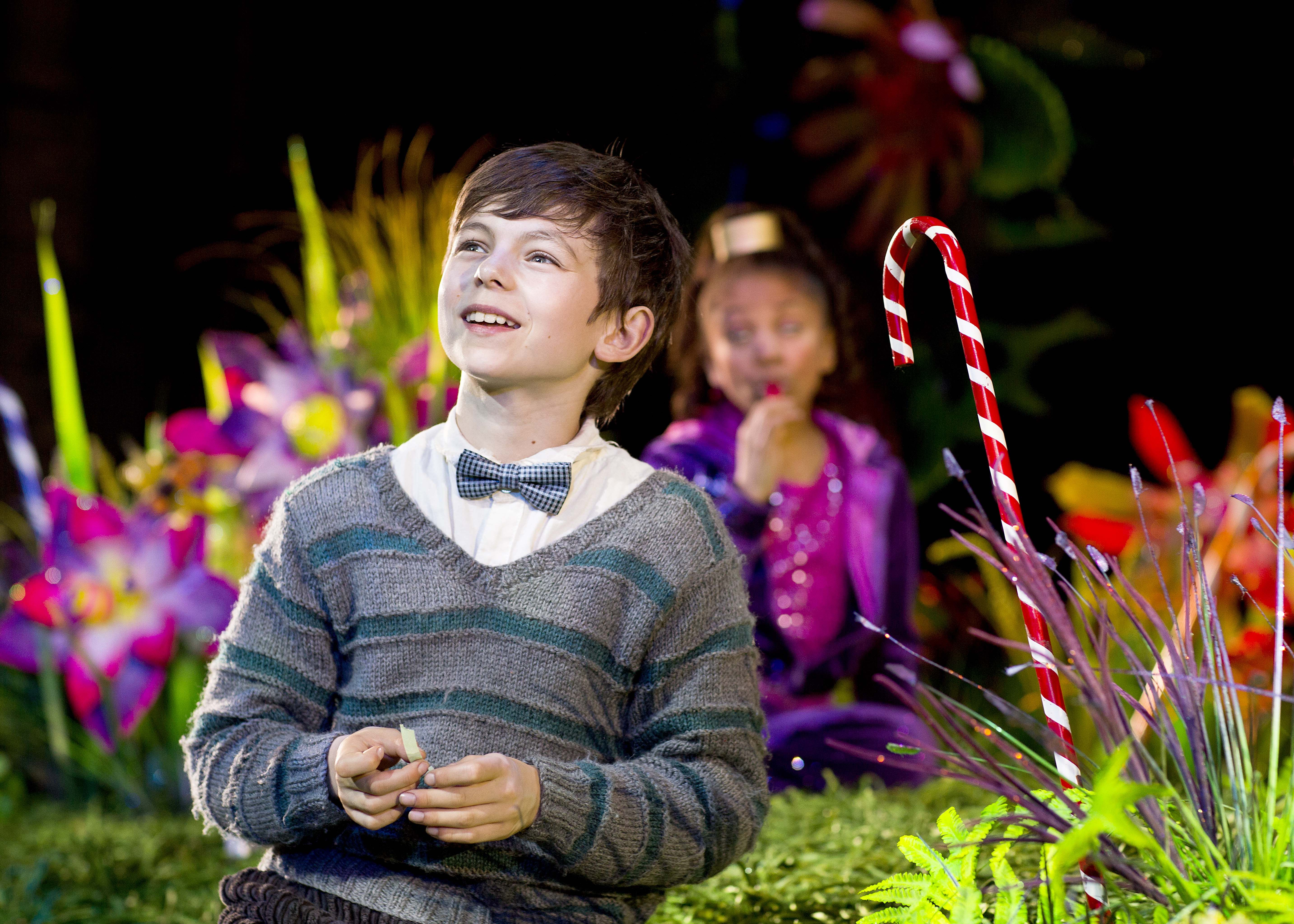 charlie bucket photo by helen banks charlie and the  tom klenerman as charlie bucket charlie and the chocolate factory musical