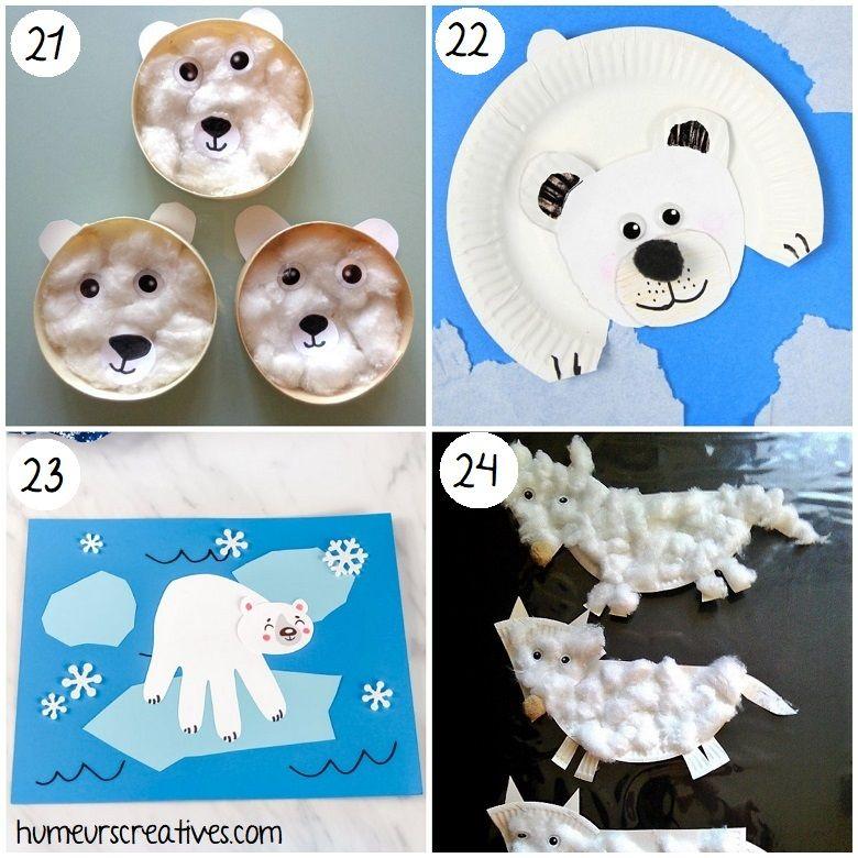 40 bricolages d'hiver pour les petits -