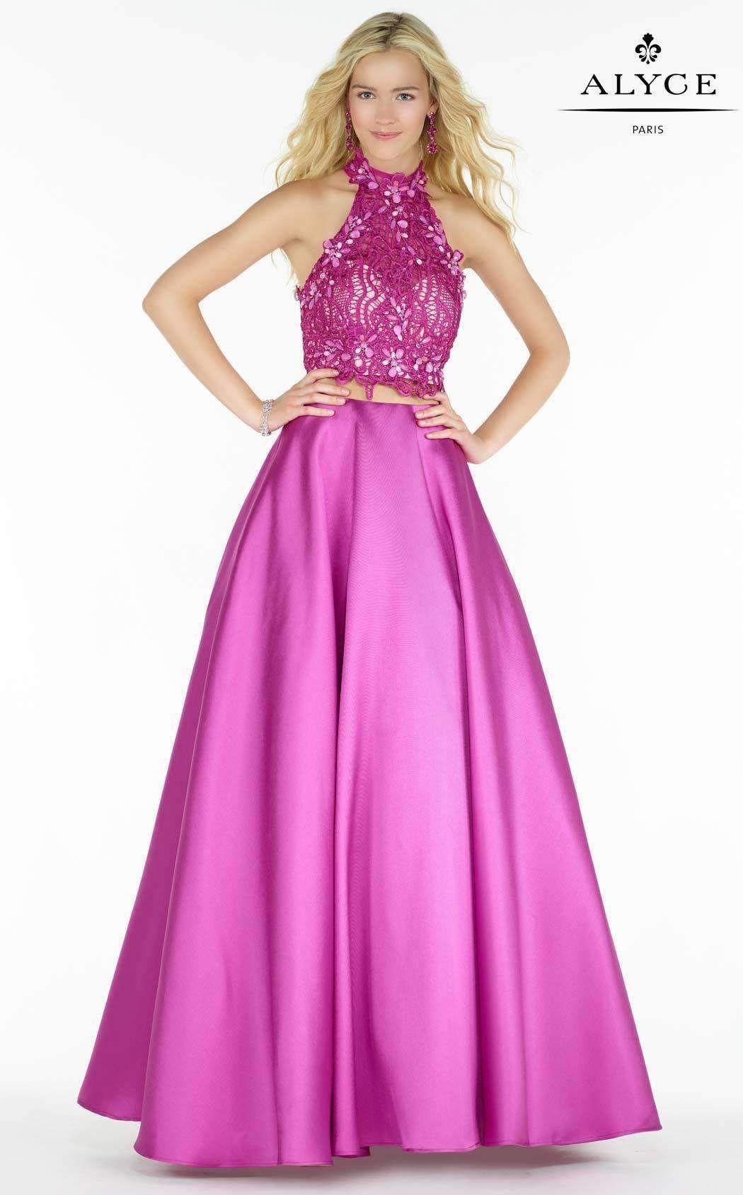 0ebdc1edea7 Alyce 6764. Alyce 6764 Pink Formal Dresses ...