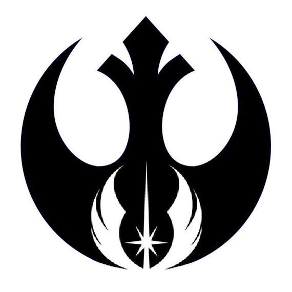 Etiqueta Del Coche Del Vinilo Star Wars Etsy Star Wars Symbols Star Wars Tattoo Star Wars Jewelry