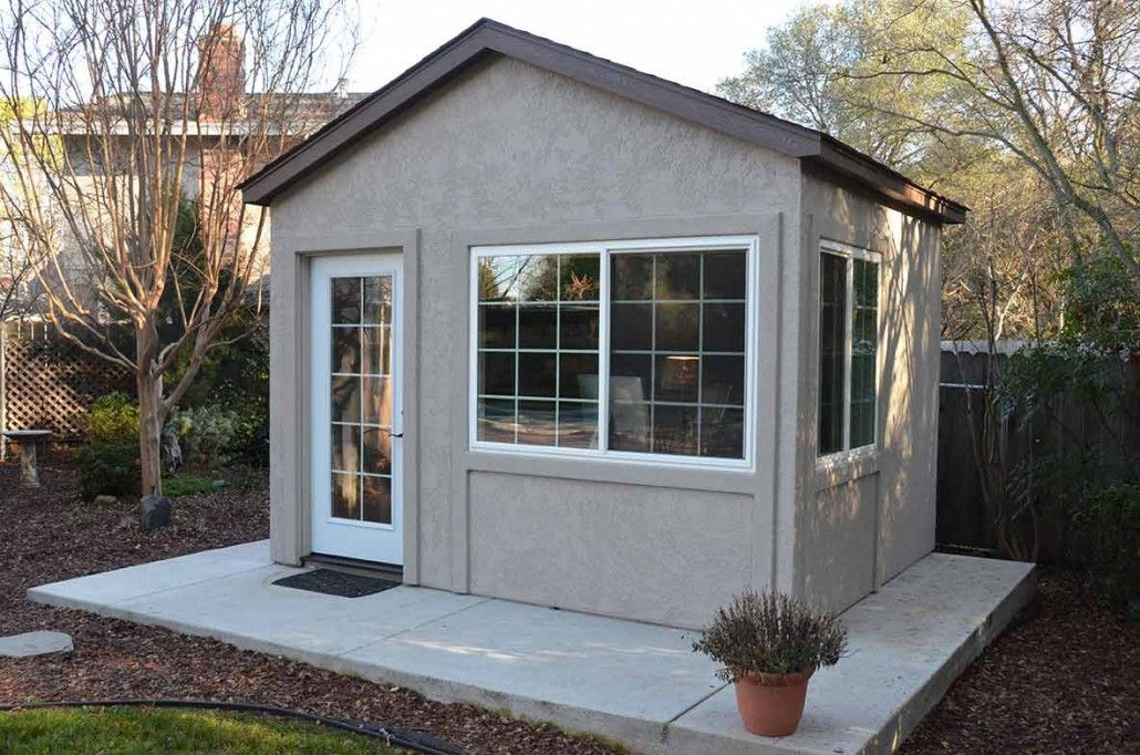 backyard shed office. down to business with this backyard office - tuff shed