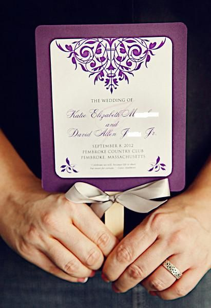 Found On Weddingbee Com At Every Wedding I Have Been To In The Spring Summer People Need Fans Because It Is Too Hot Thi Ceremony Programs My Wedding Ceremony
