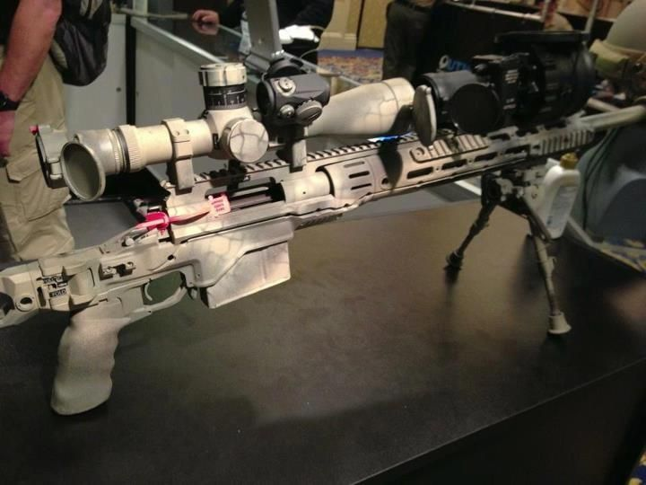 custom paint job on the msr awesome accessories nice airsoft