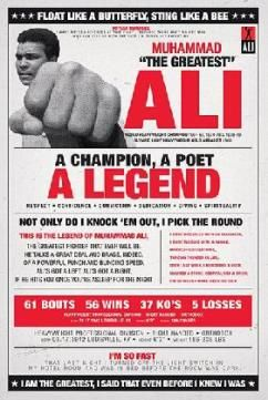 Muhammad Ali - Vintage Quotes Poster 24