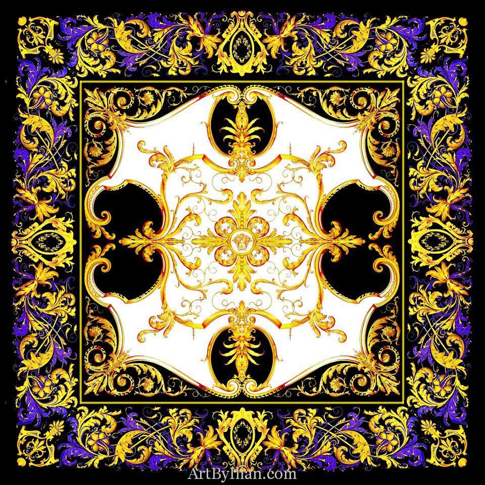 okWebWorksforVersace_00077 Baroque pattern, Italian