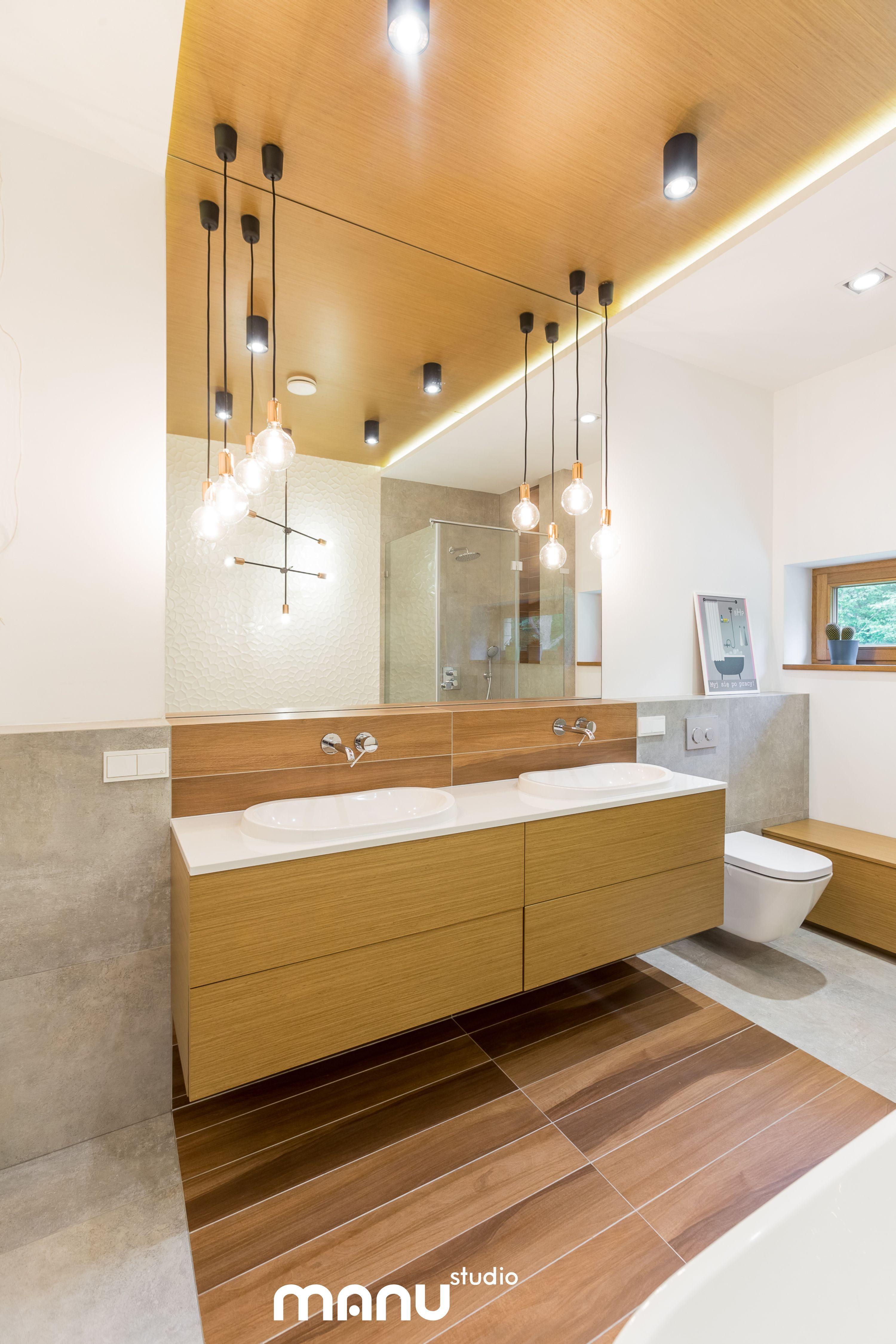 Wood In Bathroom By Manustudio Interiordesign