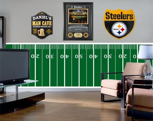 Gameday Football Border Wall Decal Wall Sticker