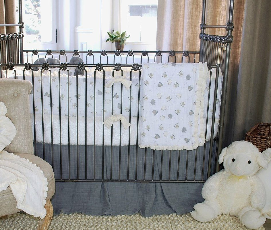 100 Cotton Lambie Fitted Crib Sheet Cribs, Crib sheets