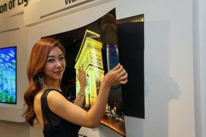 LG dévoile une télévision de moins d'un centimètre d
