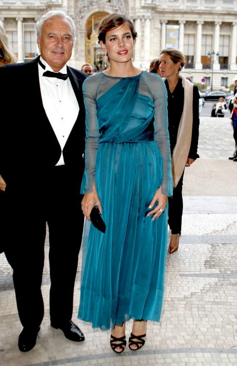 Charlotte Casiraghi in Chanel Pre-Fall 2012 Collection | Charlotte ...
