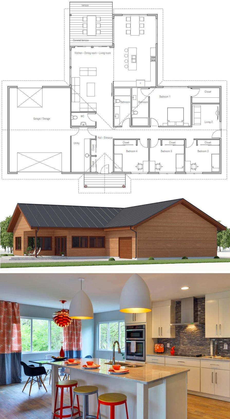 House Plan CH529