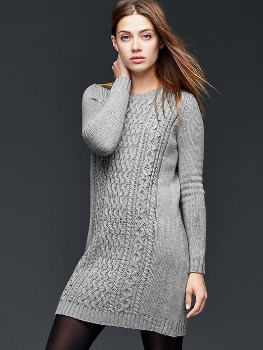 23e8083e794e Trending On ShopStyle - Gap Cable-knit sweater dress - ShopStyle Women