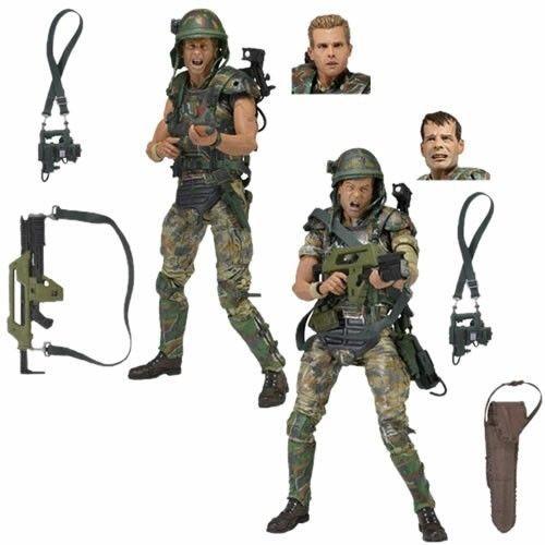"NECA Aliens Colonel Cameron Colonial Marine Figure Alien Movie Director 7/"" Doll"
